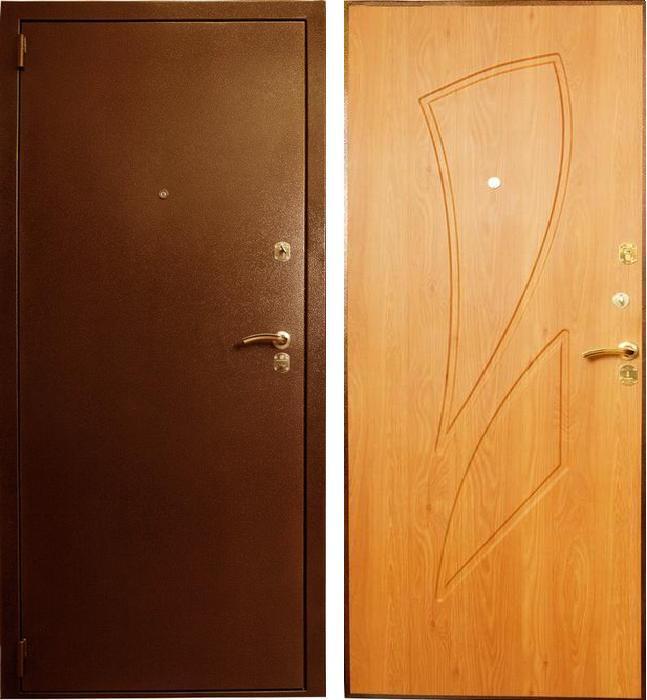 дверь металлическая входная цвет
