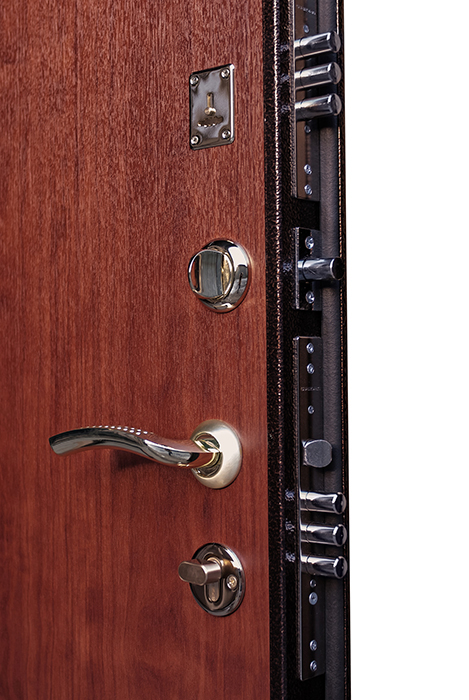 железная дверь накладная не в проем
