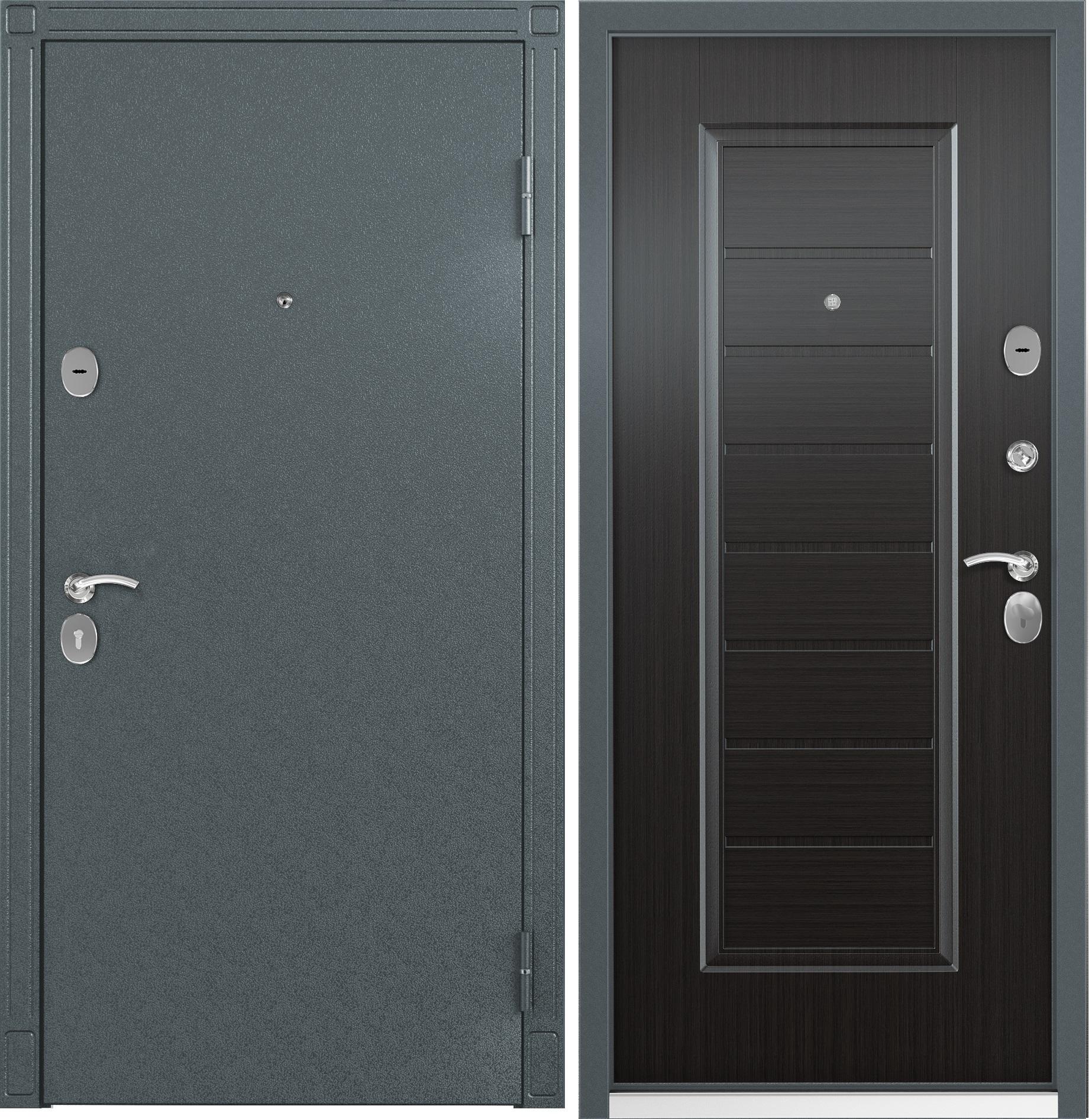 металлические двери стил