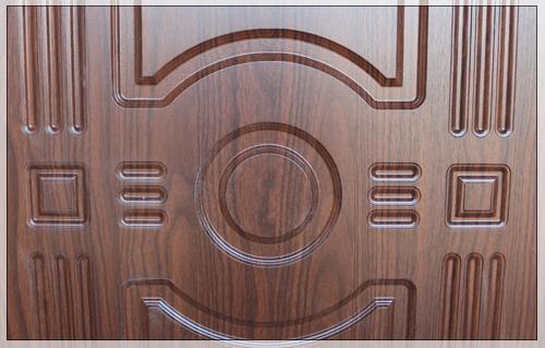 Отделка двери 3К Орех